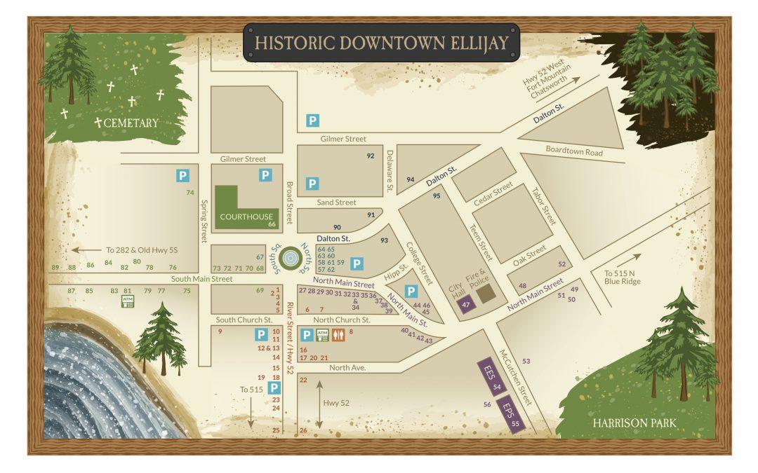 Ellijay GA Apple Festival Map Guide