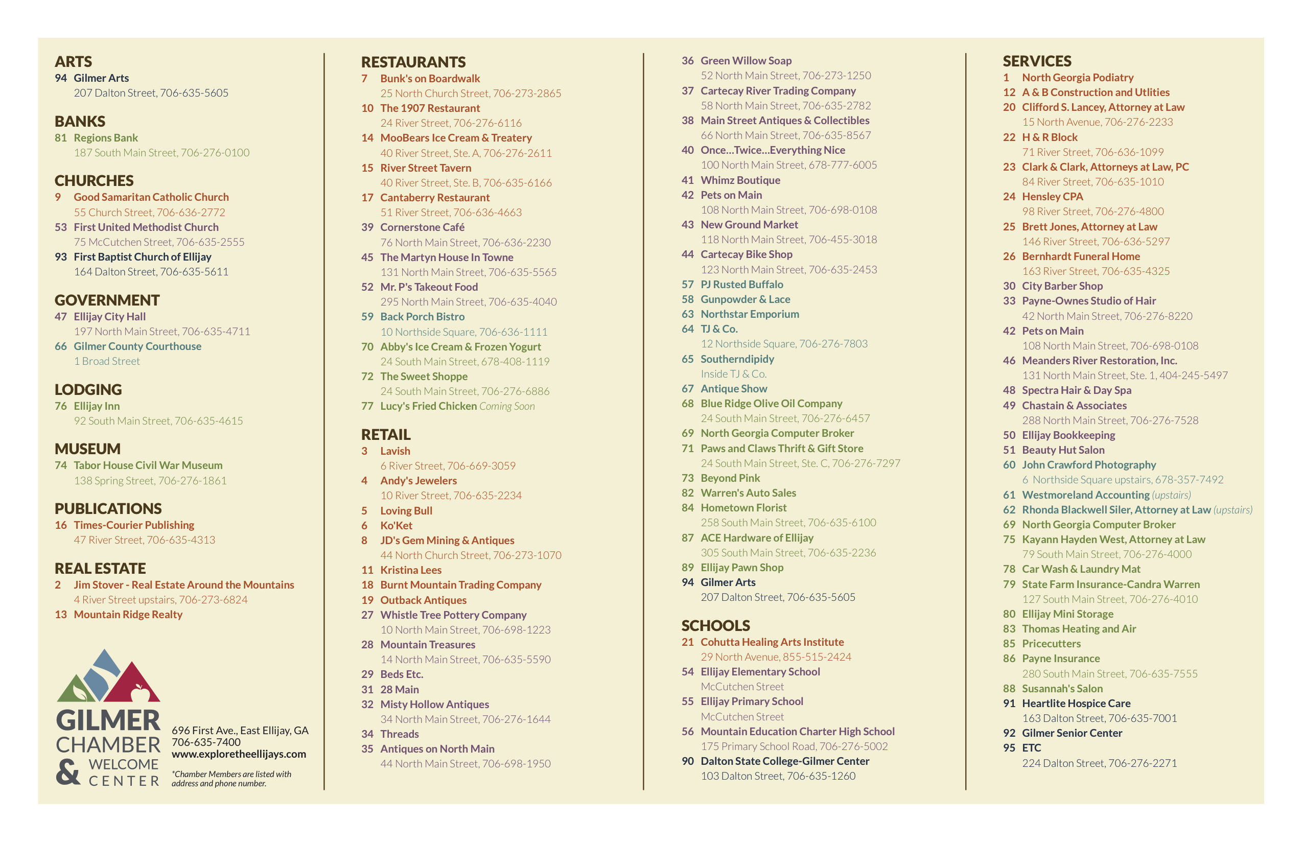 Ellijay GA Apple Festival Map Guide