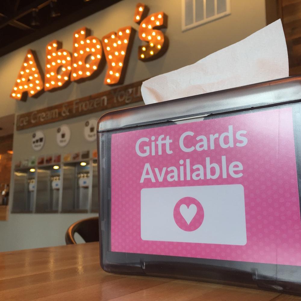 Ellijay GA Abby's Gift Cards
