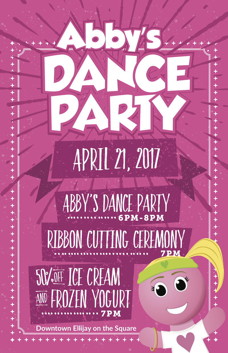 Ellijay Dance Party Abby's Ice Cream and Frozen Yogurt
