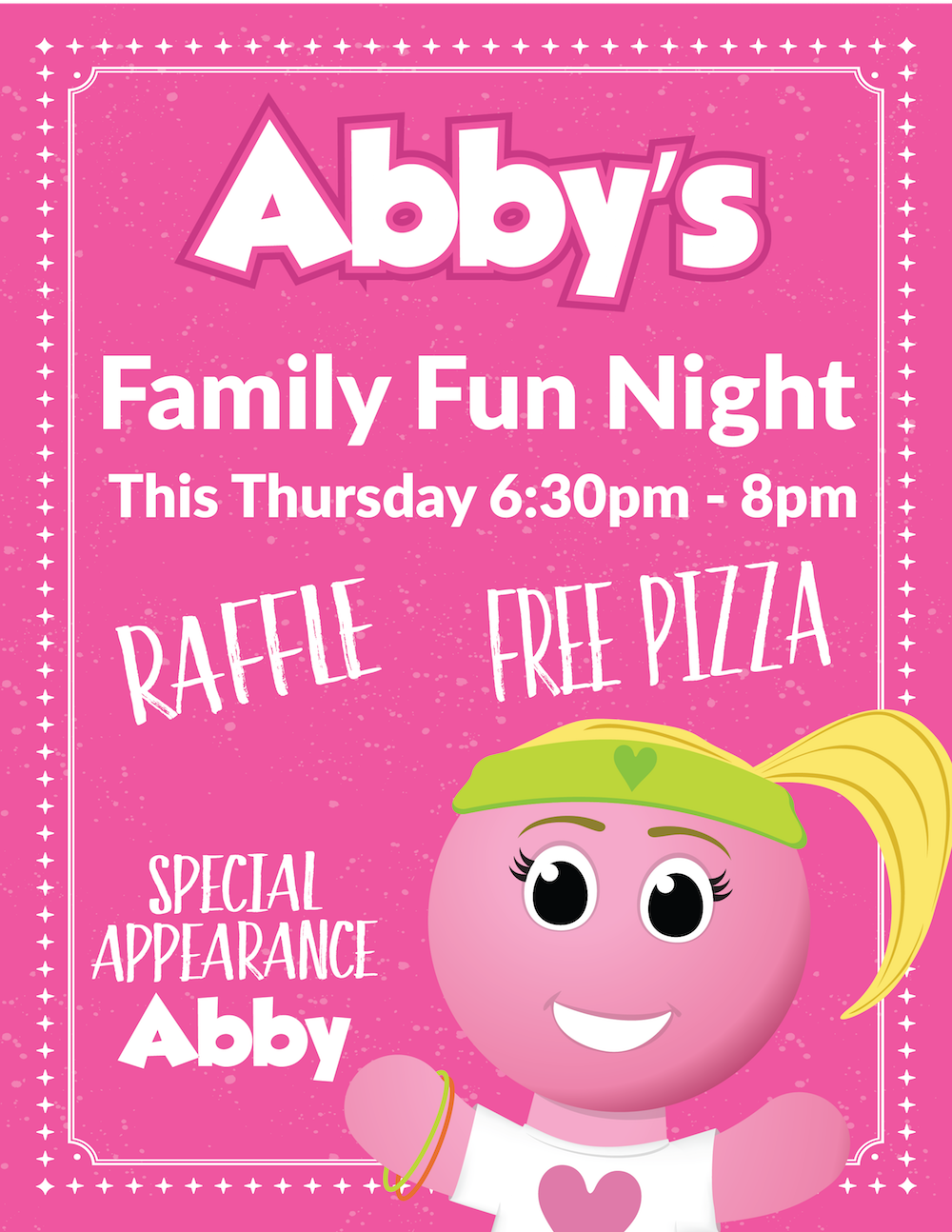 Abby's Family Fun Night